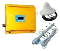 Усилитель репитер GSM 1800 МГц до 300м² с дисплеем