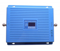 Усилитель репитер GSM 900 GSM 1800 3G 2100 МГц до 300м²