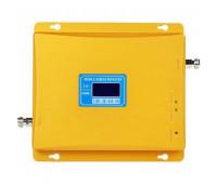 Усилитель репитер GSM 900 / 3G 2100 МГц до 300м² с дисплеем и антеннами