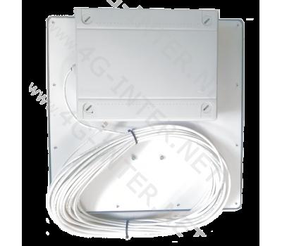 Антенна 3G 4G LTE Цифриус  2x20 Dbi UTP с встроенными модемом и роутером.